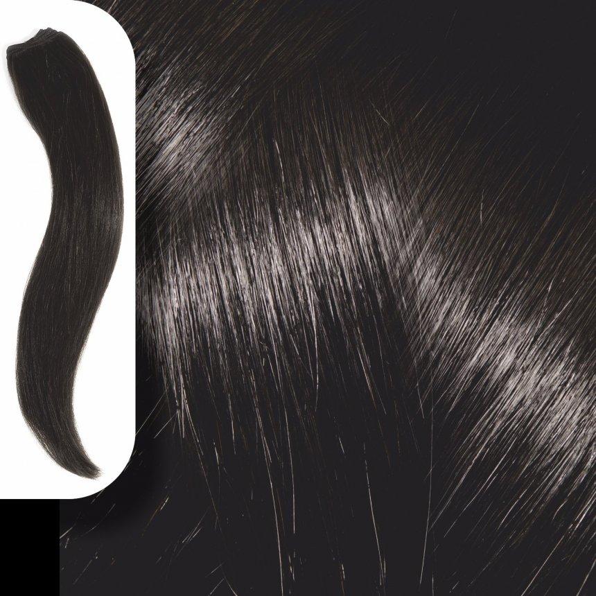 Τρέσα Φυσική Τρίχα Νο 1.0 Μαύρο - 120*50cm